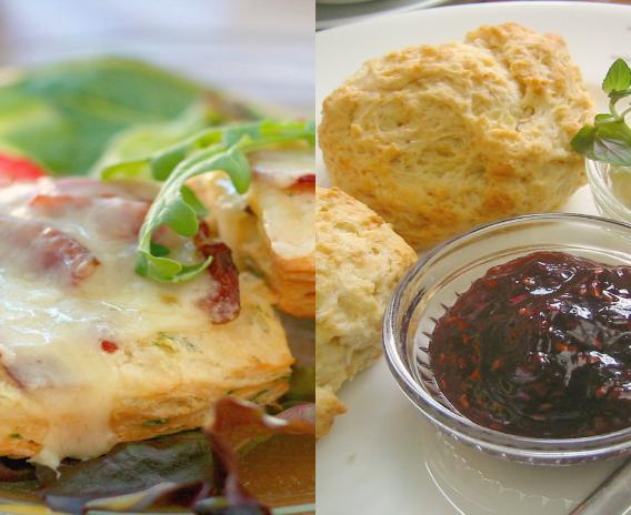 US vs. UK: Bacon biscuits or sweet scones?