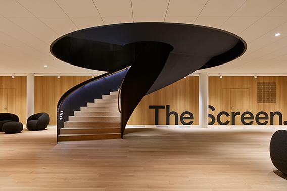 EF Zurich staircase