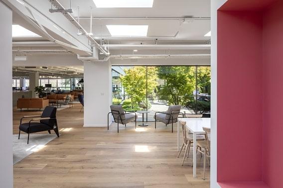 London Office Terrace