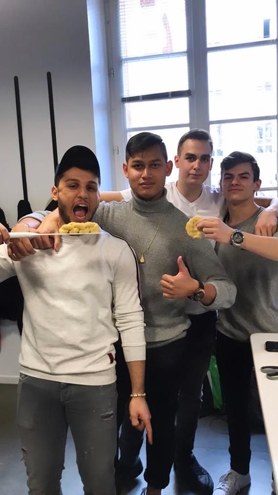 EF Paris' student bakers