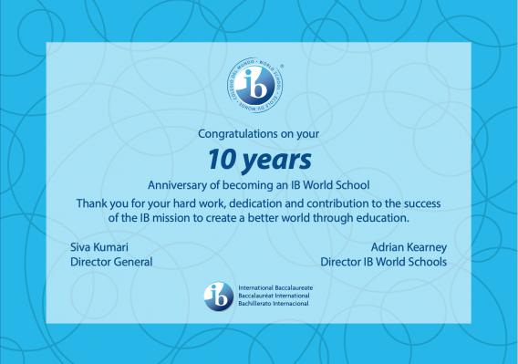 EF Academy IB World School Certificate