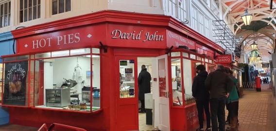 David John, butchers in Oxford's Covered Market