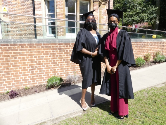 EF Academy Oxford students on their graduation day